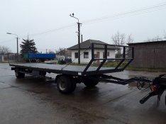 10,6 meteres Bálaszállító pótkocsik