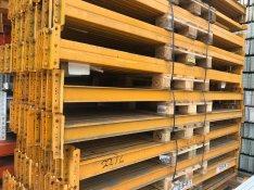 1200 kg/ raklap teherbírású rendszer