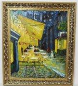 1888-as van Gogh antik festmény alapján, luxus arany keret 73 cm