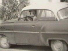 1956-os veterán Opel Rekord első-hátsó szélvédők és oldalüvegek