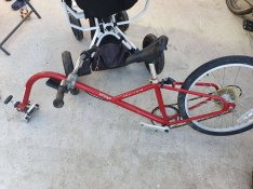 20-as kerékpár kerékpár utánfutó