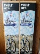 2 db újszerű Thule Freeride 575 fekete zárható kerékpárszállító eladó