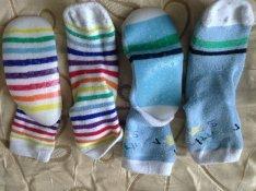 2 pár hibátlan zoknicipő / zokni cipő csúszásmentes talppal 27-30-as 1