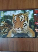 3D Puzzle Tihger 500 db-os