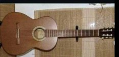 4)4-es méretű koncertgitár/Strunal 477 H M Made in Czech Republic/