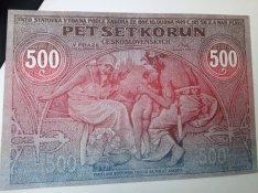 500 Korona, Meszaros fele masolat, hajtas nelkuli