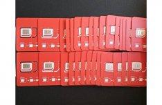50 db Vodafone SIM kártya