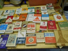 56 doboz régi cigaretta eladó