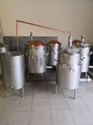 73 liter űrtartalmú pálinkafőző