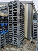 80x120cm-es EU méretű nagy teherbírású műanyag raklap 3T