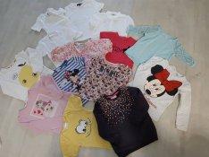 98-104-es kislány ruhák csomagban