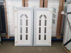 98x208 Új műanyag bejárati ajtó ingyen szállítással október