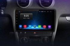 AUDI A3 Android autórádió fejegység gyári helyre 1-4GB Carplay