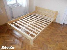 Ágy eladó, ágykeret és ágyrács, új. A kiszállítás zavartalan