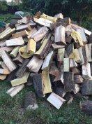 Akác vegyes száraz  kemény Tűzifa  apritva kályha kész