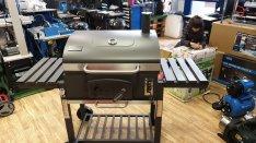 Angulatus faszenes grillsütő 2év garanciával kiállított utolsó darab