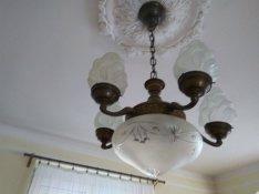 Antik csillár lámpa 1920-as