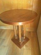 Antik kerek kis faasztal Siofokon 15.000 e ft eladó 06 30 528 4007