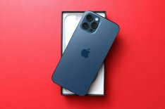 Apple iphone 12 Pro Max - 256GB - Pacific Blue (AT&T)