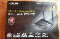 Asus router RT-N12+