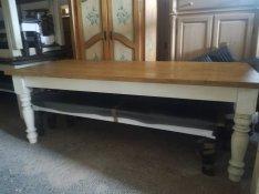 Asztal rusztikus fenyő szék lóca