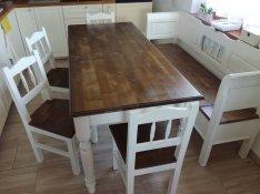 Asztal szék pad lóca ülőgarnitúra étkező nappali előszoba