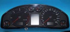 Audi A4, A6, VW, kilométer óra / műszercsoport LCD pixelhiba javítás, 1. Kép