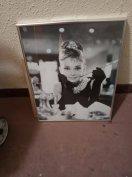 Audrey Hepburn kép eladó 8000ft óbuda