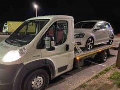 Autómentő autószállító Fiat ducato bérlés bérelhető