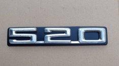 BMW 520 E12 E28 csomagtér felirat