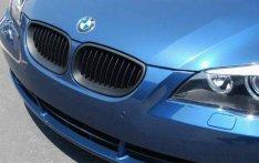 BMW E60 E61 (5-ös) díszrács / vese / hűtőrács matt fekete 2004-2009