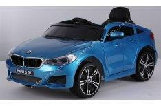 BMW GT 12V lakk kék elektromos kisautó / LED világítással
