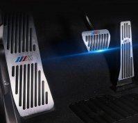 BMW M alumínium, pedál szett automata