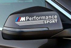 BMW visszapillantó tükör matrica M Performance 1 pár