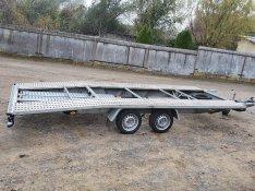 Bérelhető autószállító trailer, tréler, kölcsönzés, bérlés, bérbeadás