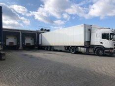 Bértárolás, hűtött árúk tárolása, szállítás