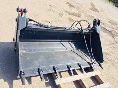 Bobcat nyitható kanál 163cm , Gehl Jcb 1CX CAT Csúszókormányzású