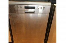 Bolti ár-40%-ért 3 év garanciával új szépséghibás mosogatógép eladó