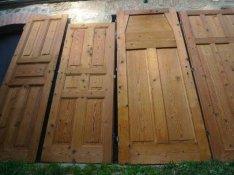 Bontott polgári régi antik ajtó eladó