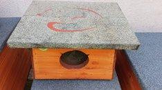 Cicaház macskaház kültéri hőszigetelt 50x45 cm-es eladó