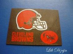 Cleveland Browns / NFL hűtőmágnes