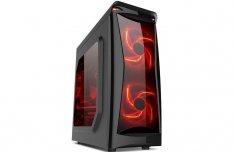 Core I7 GTA 5 Fortnite Gamer PC 8X3.6Ghz 8GB 2.0TB R5 340 2GB 1Év GAR!