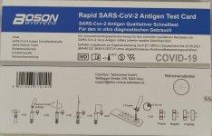 Covid-19 antigén gyorsteszt