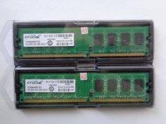Crucial DDR2 667 800 MHz 2 x 2 GB 4 GB Új!