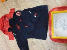 Dechatlonos vízhatlan fiú kabát 4 éves tribord