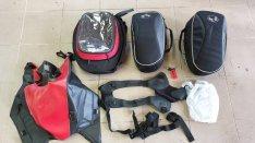 Ducati diavel komplett táska szett 2xoldal 1 tank