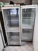Dupla üvegajtós, kétlégterű üvegajtós hűtő garanciával