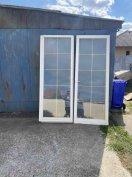 Dupla üveges hőszigetelt ablakok/ajtók