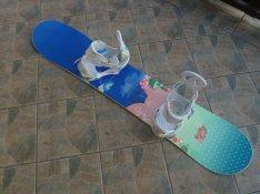 Egy napot használt Burton Punch snowboard lap, Burton Citizen kötés ka