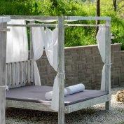 Egyedi luxus baldachin ágy, napozóágy, kerti bútor országszerte